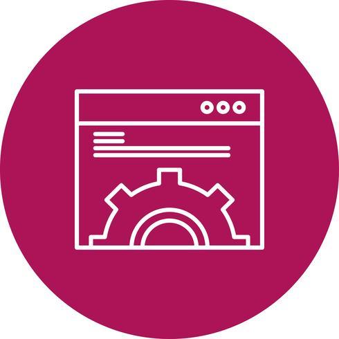 Vektor-Website-Symbol