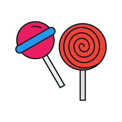 vector candy icon