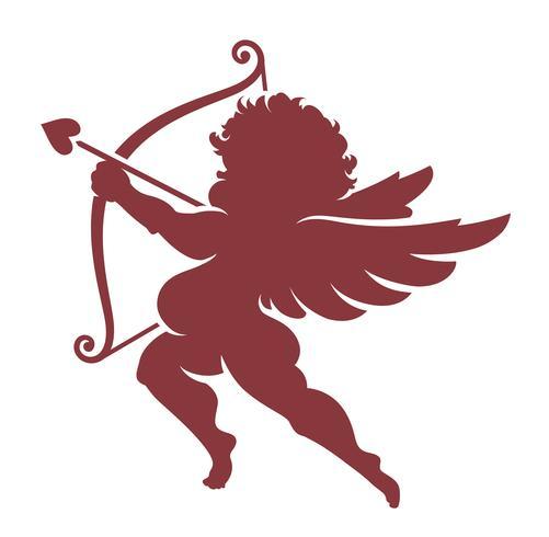 Vector Cupido Silhouette