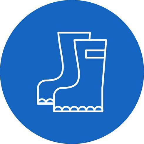 Vector schoenen pictogram