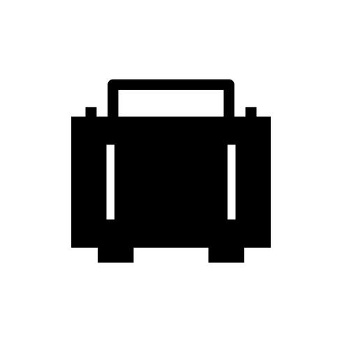 Aktentas Glyph Black pictogram
