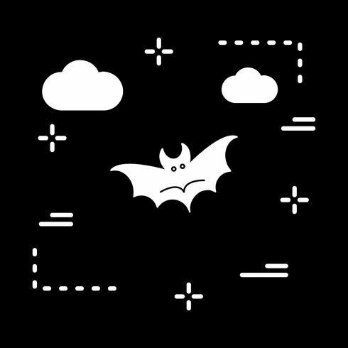 vector vleermuis pictogram