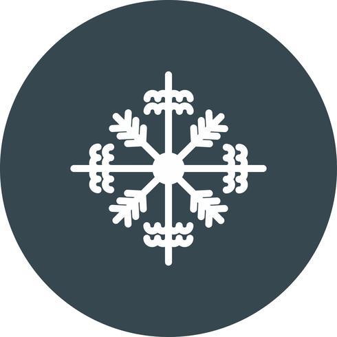 vector sneeuwvlok pictogram
