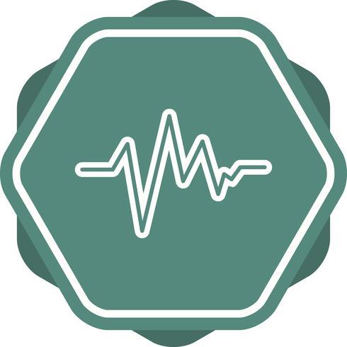 ecg lijn pictogram