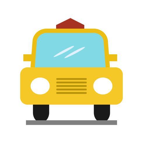 Ícone de cor lisa multi-táxi