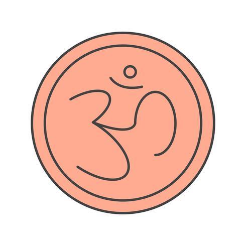 vektor tecken hinduikonen
