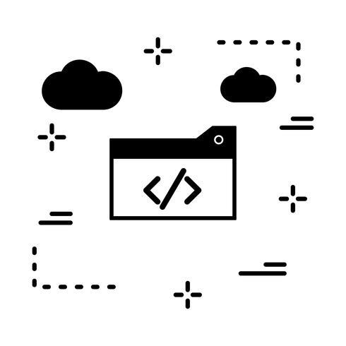 Vektor-Optimierungscode-Symbol
