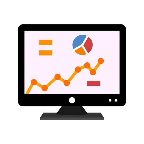 Statistiksymbol flach