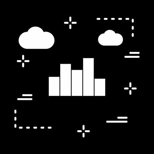 ícone de gráfico de vetor