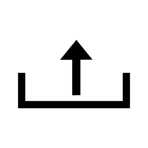 Télécharger l'icône de glyphe noir vecteur