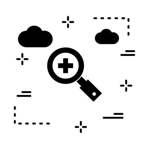 Vektor-Suchsymbol