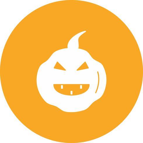 icône de citrouille de vecteur