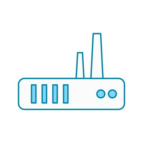 vector router pictogram