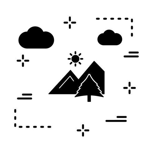ícone de galeria de vetor