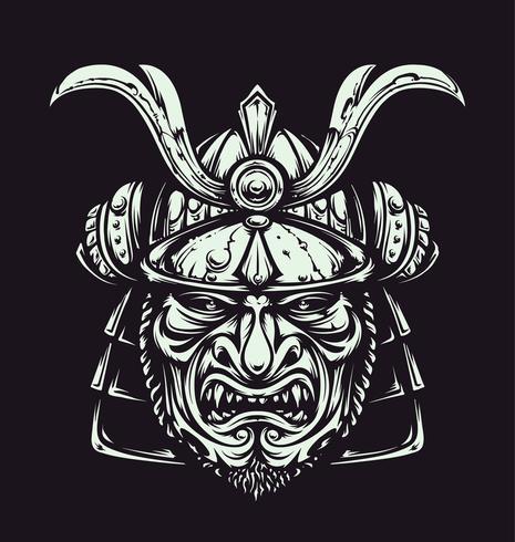 Vector Samurai-masker