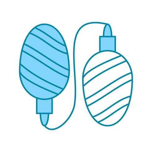 ícone de luzes do vetor