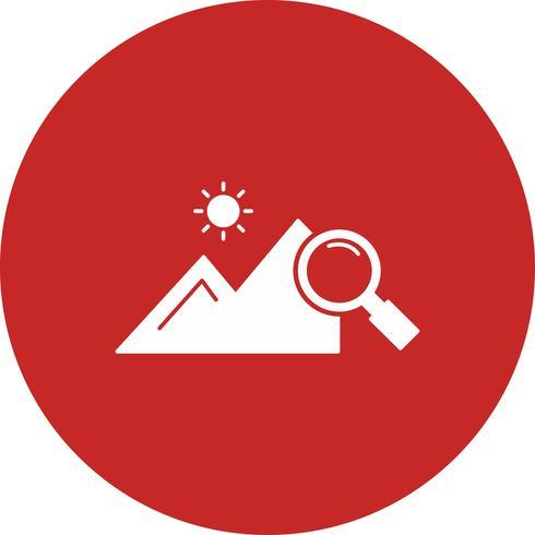 vector verkennen natuur pictogram