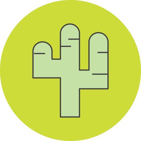 vector catcus plant pictogram