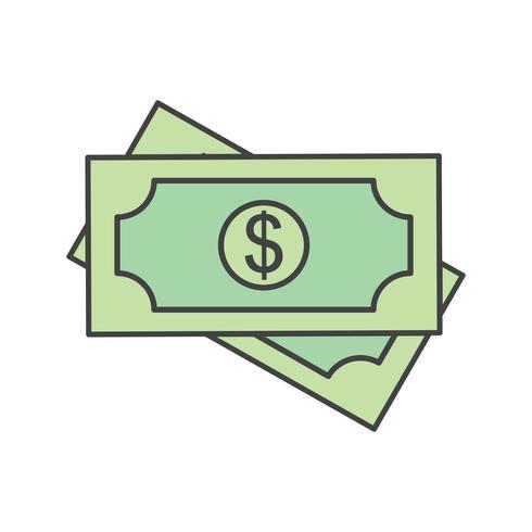 vector dollar pictogram