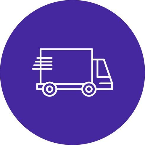 Vector vrachtwagen pictogram