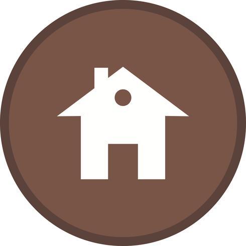 Huis gevuld pictogram