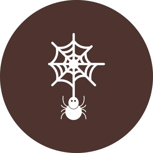 icône de vecteur d'araignée