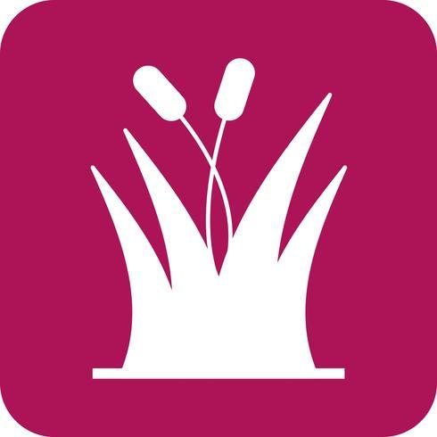 ícone de grama de vetor