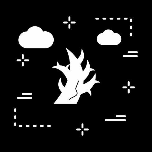 ícone de árvore de vetor