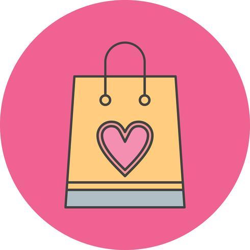 icona di shopping bag vettoriale - Scarica Immagini Vettoriali ...