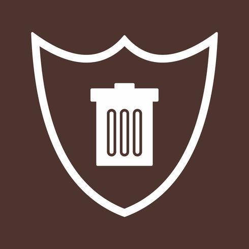 Vektor-Schild-Symbol