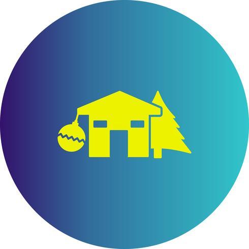 icône de décoration de boule de vecteur