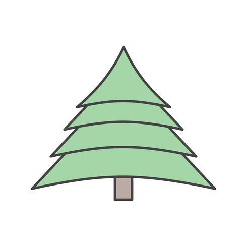 vektor träd ikon