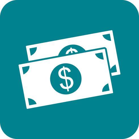 vektor dollar ikon