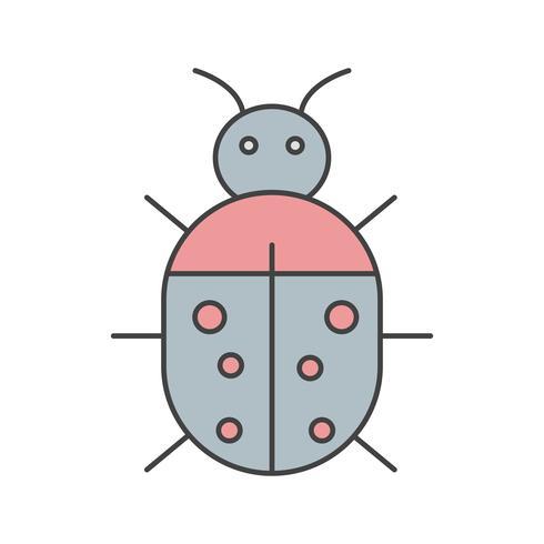 Vektor-Bug-Symbol