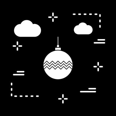 vector bal decoratie pictogram