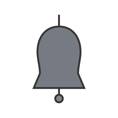 Gefüllte Ikone der Kirchenglocke