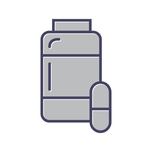 Arzneimittel Linie Symbol gefüllt