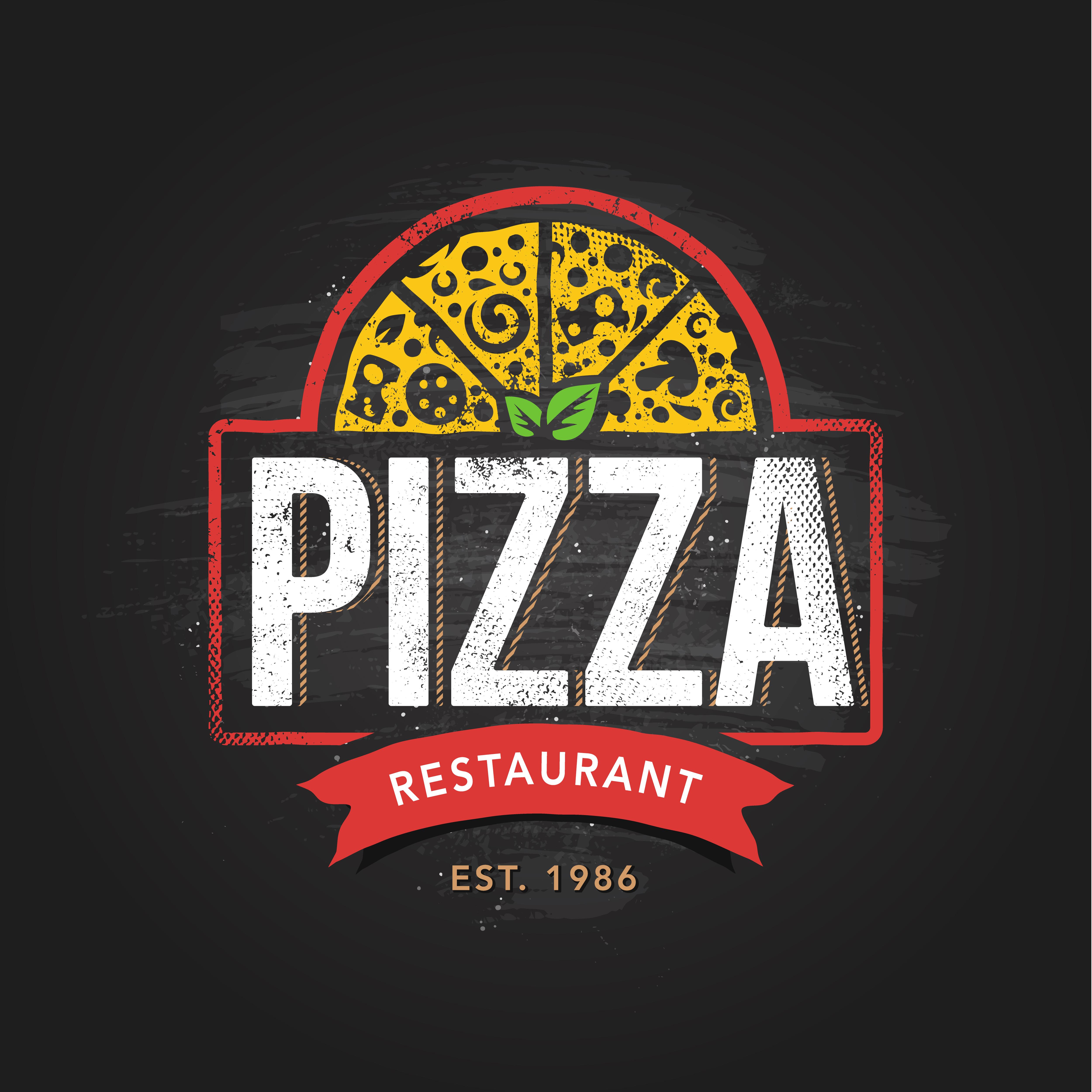 Retro Design Restaurant Logo