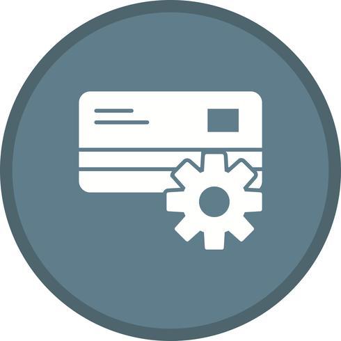 Multi-Hintergrundikone des Zahlungseinstellungs-Glyphen