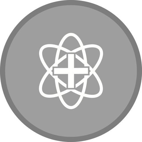 Kreis der Chemie-Glyphe