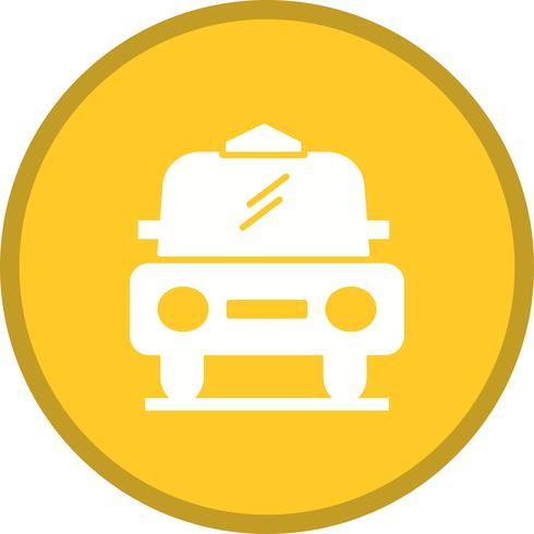 Táxi cheio ícone de fundo multi cor