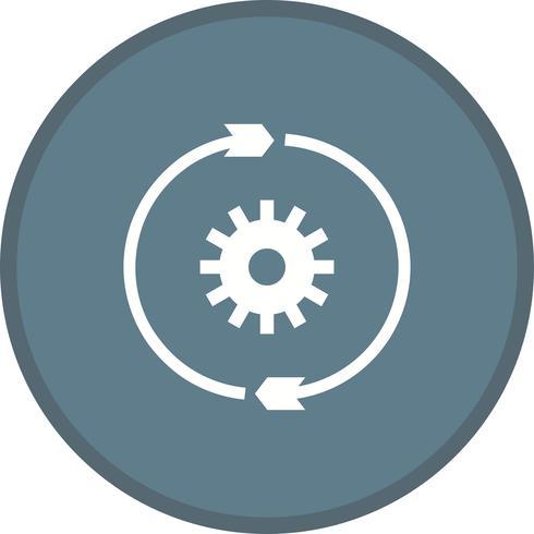 Conversie-instellingen glyph multi color background icon
