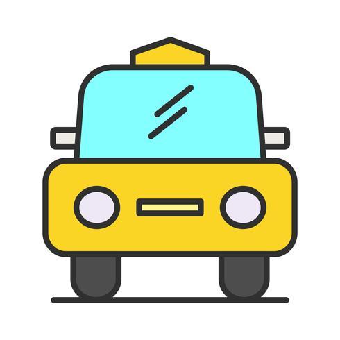 Icono de línea de cabina llena