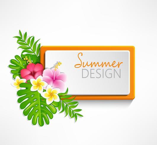 Summer red frame