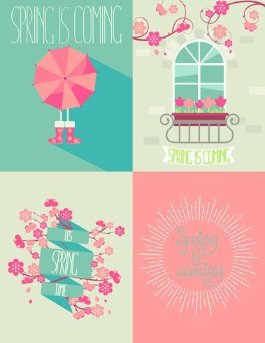 set of springtime