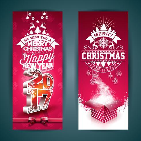 Illustration de bannière joyeux Noël