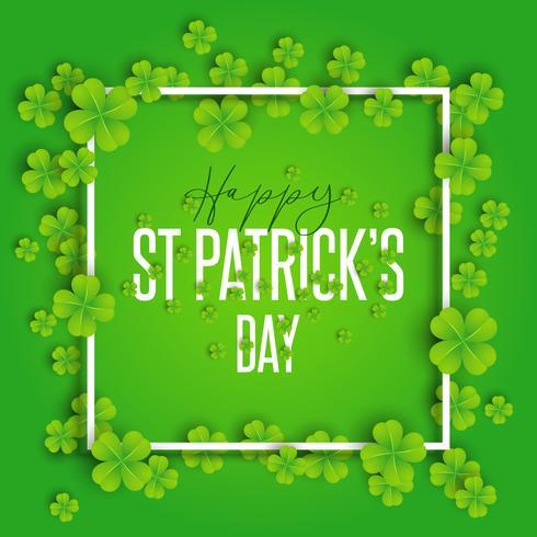 Glücklicher St Patrick Tageshintergrund