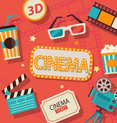Concept de cinéma.
