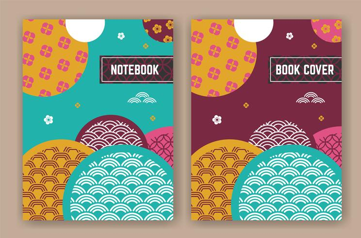 Resumen diseño de fondo oriental para la portada del libro
