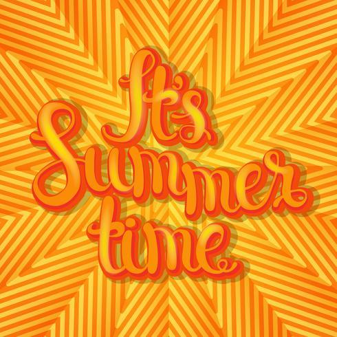 Sommer geometrischen Hintergrund.